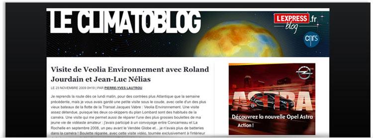Blog Le climatoblog
