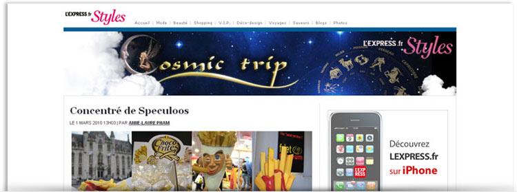 Blog Cosmic trip
