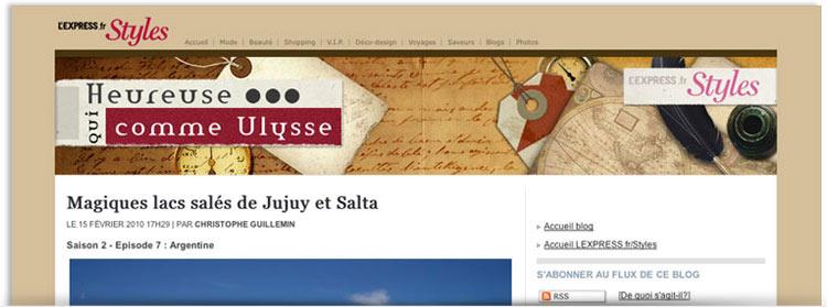 Blog Heureuse qui comme Ulysse
