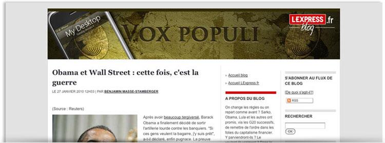 Blog Vox Populi