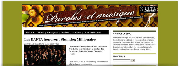Blog Paroles et musique