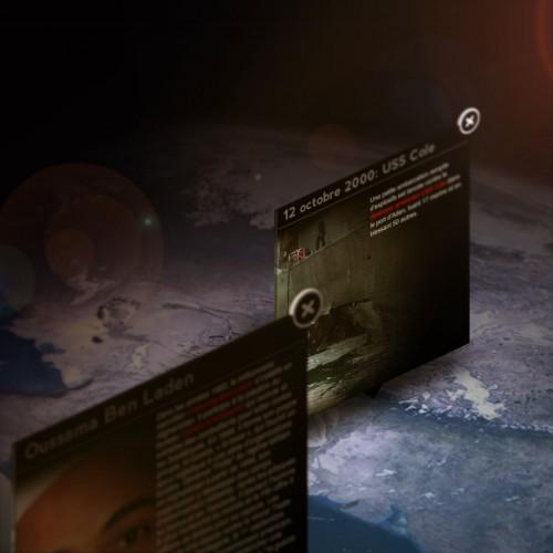 Infographie sur Al Qaeda dans le monde pour lexpress.fr