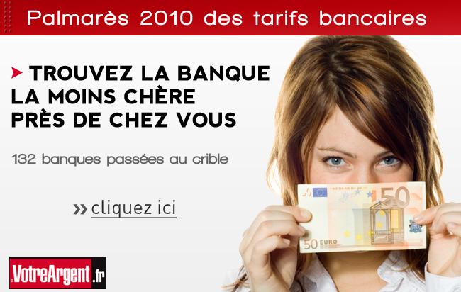 Emailing pour le palmarès des banques sur votreargent.fr