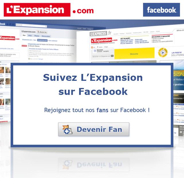 Emailing pour la page facebook de lexpansion.com