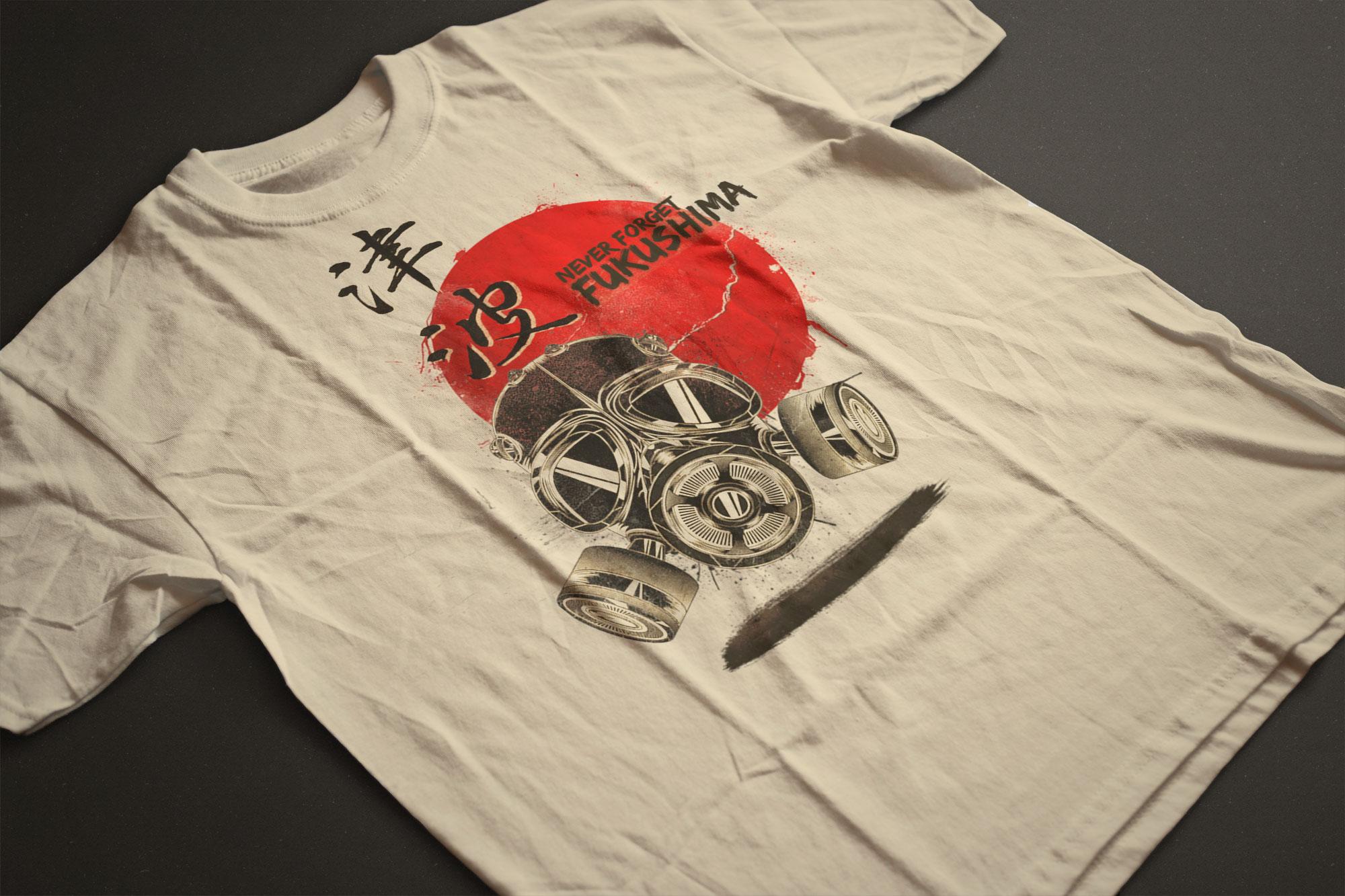 T-shirt Fukushima