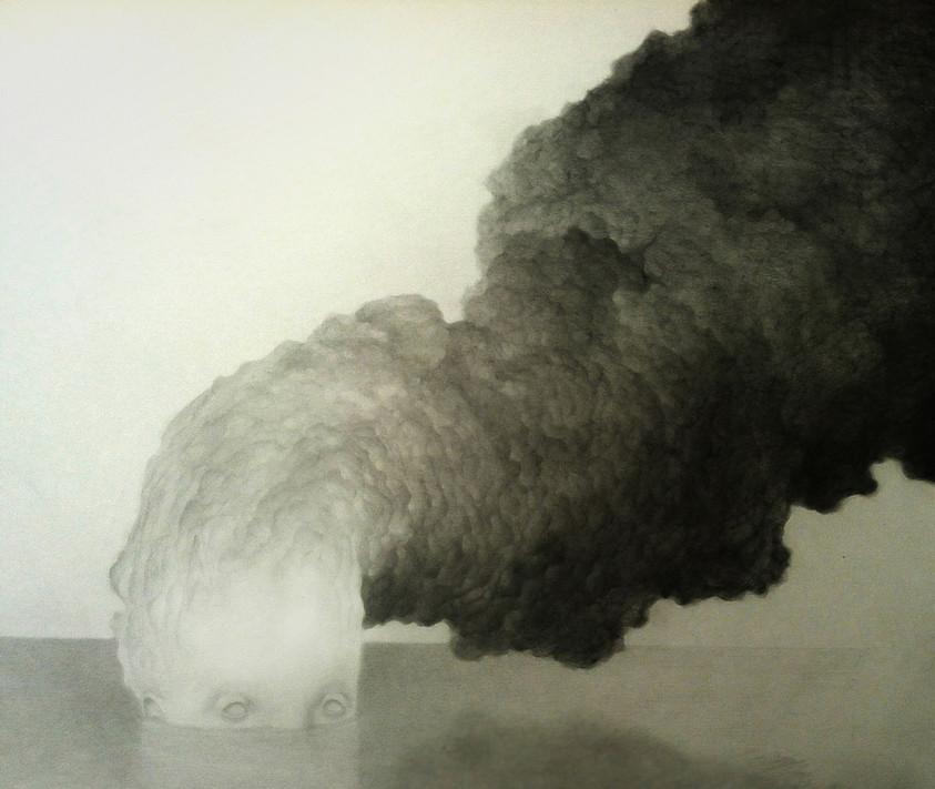 Sans titre - 2012 - Mine de plomb sur papier