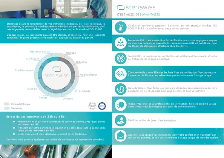 Brochure Steriswiss p2 ; p3