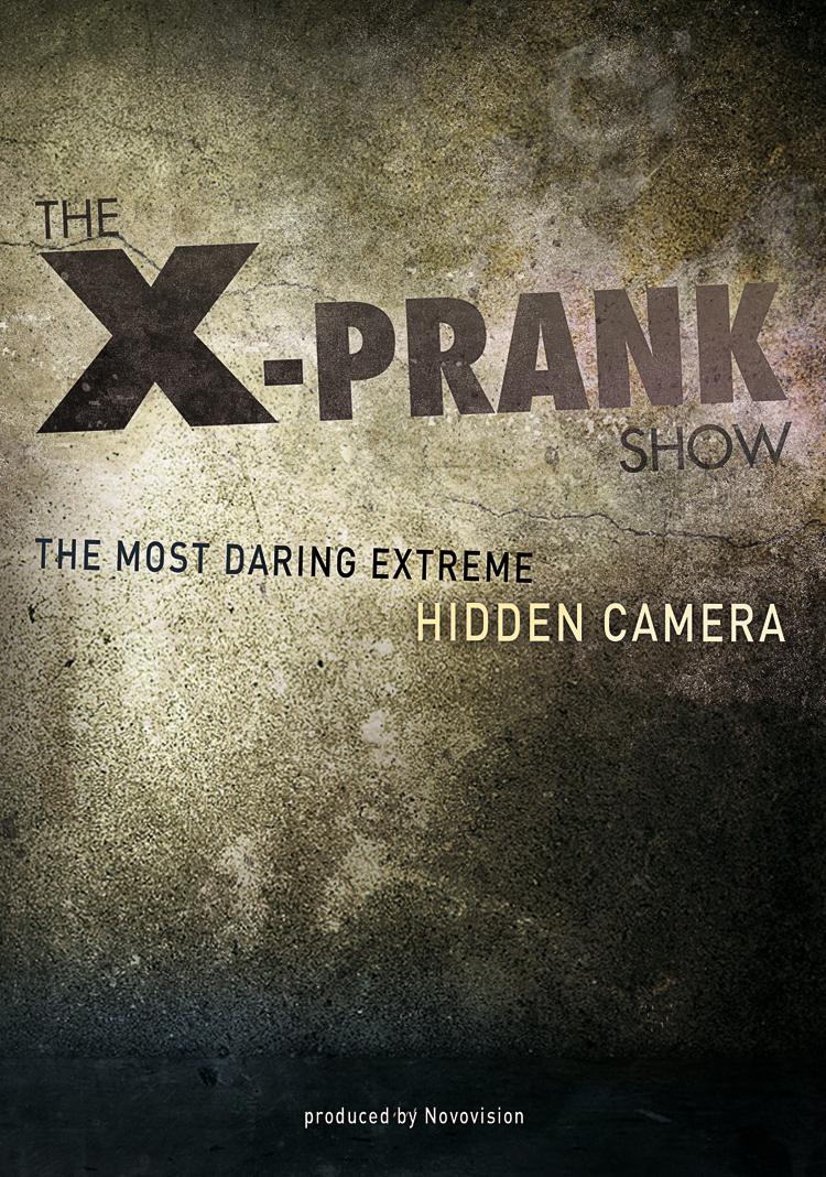 Plaquette de presentation X-Prank Show  p1