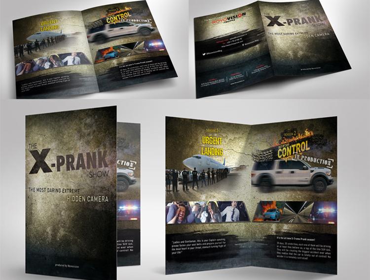 Plaquette de presentation X-Prank Show