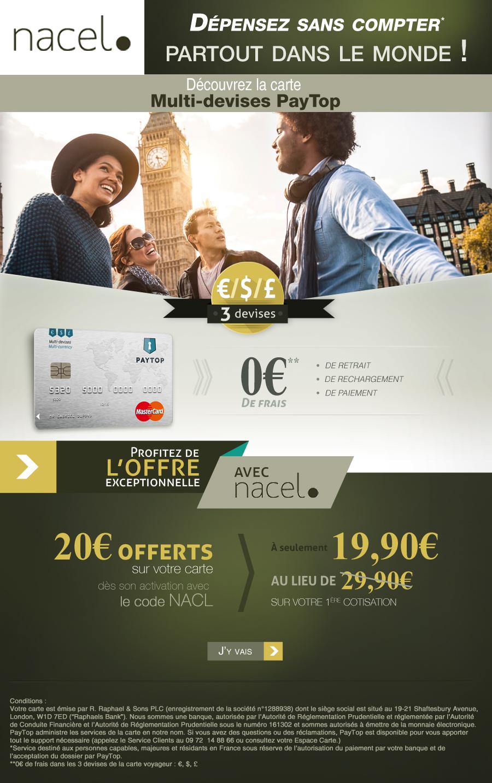 Flyer partenaire pour le site NACEL