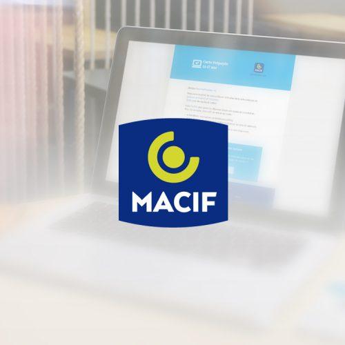 Emailing MACIF