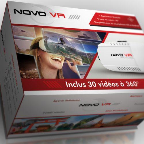 Packaging de Boite de lunettes VR pour Novo VR