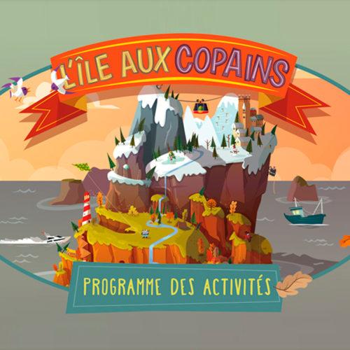 L'Île aux copains : Programme des activités automne-hiver 2017